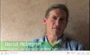 Interview with David Holgren on Permaculture